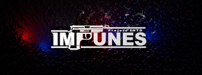 logotipo jogo IMPUNES - Projeto 2NTD