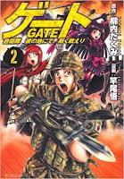 Manga Gate Jieitai Kanochi nite, Kaku Tatakaeri Cover Vol. 02