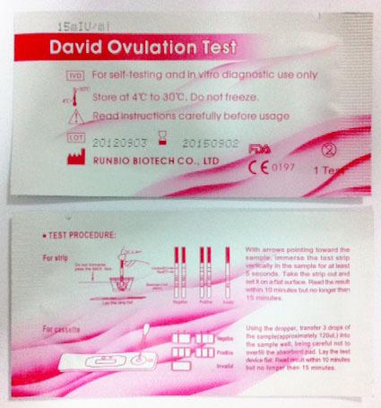 WTS: Ultra Sensitive David Ovulation and Pregnancy Test Kits - www