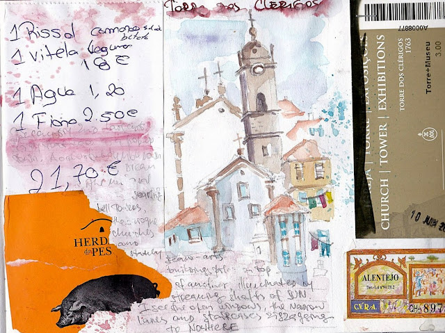 Portugal-travel-Sketchbook