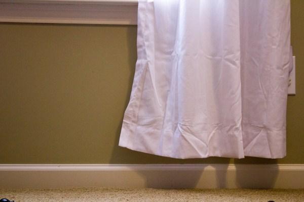 Jenson Crew J Crew Drop Cloth Curtain Fail