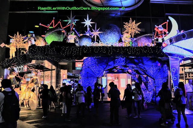 Christmas decoration and Light Up, Orchard Central, Orchard Gateway, Singapore