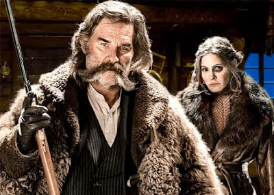 Kurt Russell-Jennifer Jason Leigh-The Hateful Eight