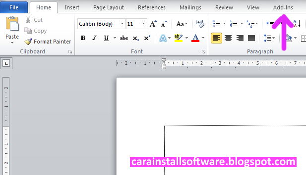 Cara Install Quran In Word