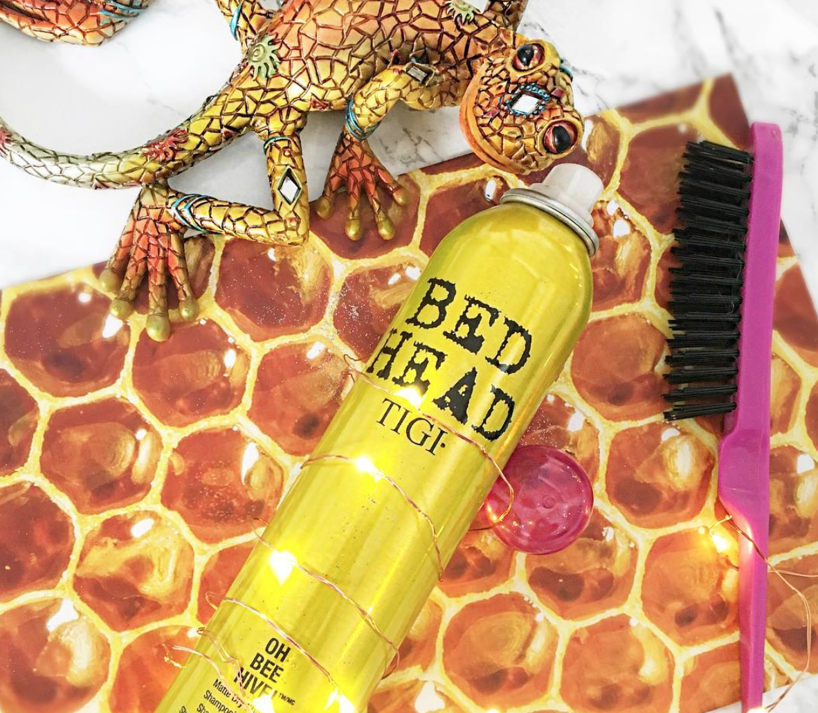 Tigi Bed Head Oh Bee Hive Matte Dry Shampoo Review Across This Page