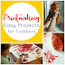 Easy Printmaking Ideas For Toddlers