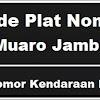 Kode Pla Nomor Kendaraan Muaro Jambi