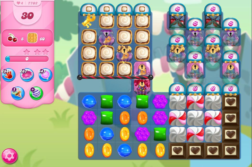 Candy Crush Saga level 7702