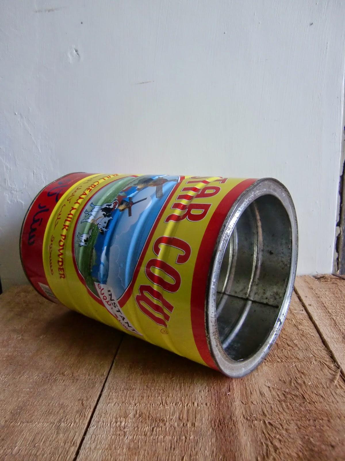 CILEGON ANTIK: Tin Box / Kaleng Susu Bubuk STAR COLD