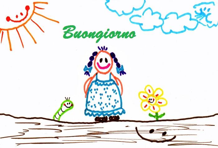 Messaggi di buongiorno dolci messaggi dolci for Foto divertenti di buongiorno