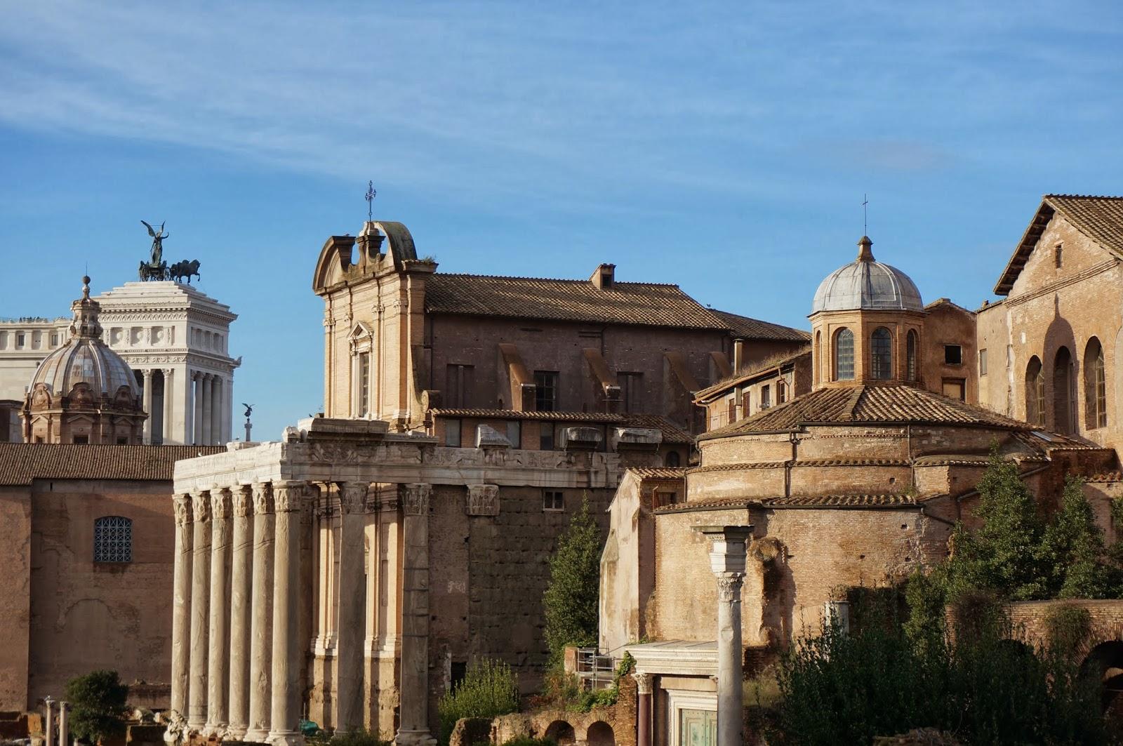 gamle bygninger i rom