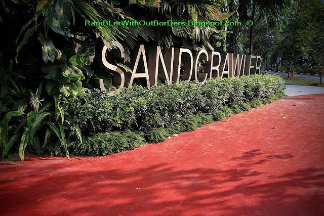 Logo, Sandcrawler Building, One-North, Singapore