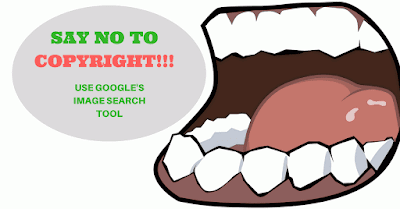 how to get copyright free images from google