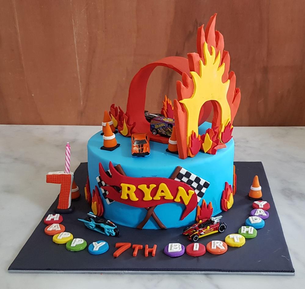 Yochanas Cake Delight Ryans 7th Birthday