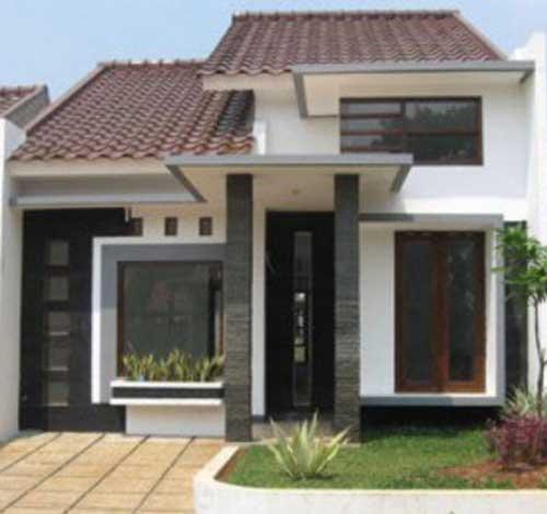 30 Desain Rumah Minimalis Type 45  Desainrumahnya.com
