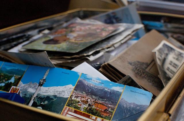 Box full of photographs