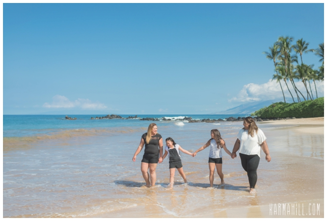 Maui Beach Family Portrait Photographer