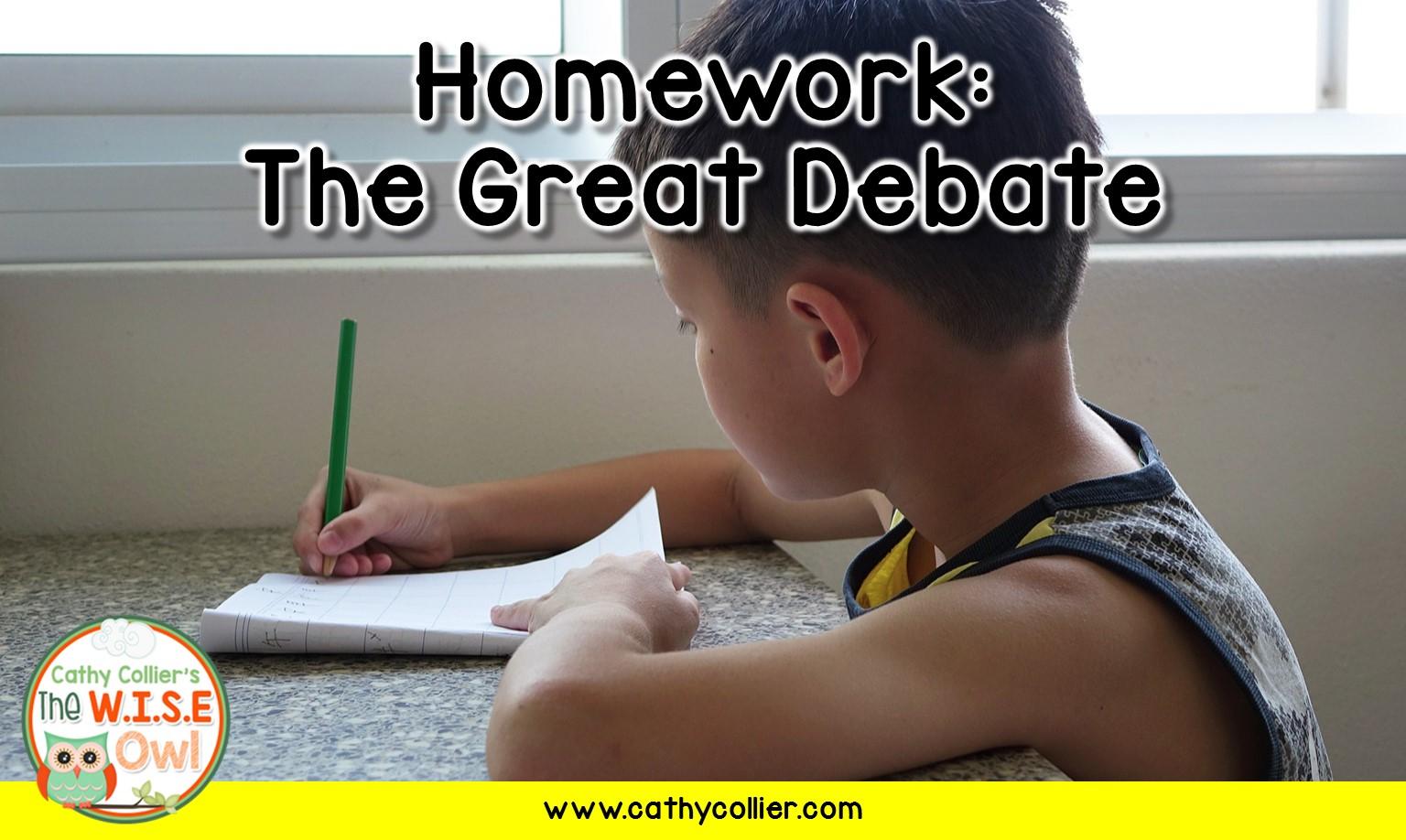 homework debate