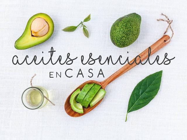 ACEITES ESENCIALES EN CASA