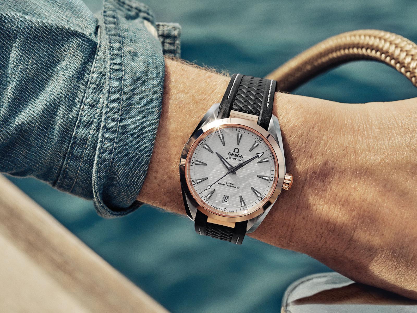Addicted To Eddie Omega Watches Seamaster Aqua Terra Advert