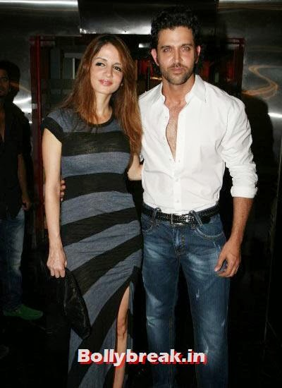 Sussanne and Hrithik, Hrithik and Sussanne marriage in pictures