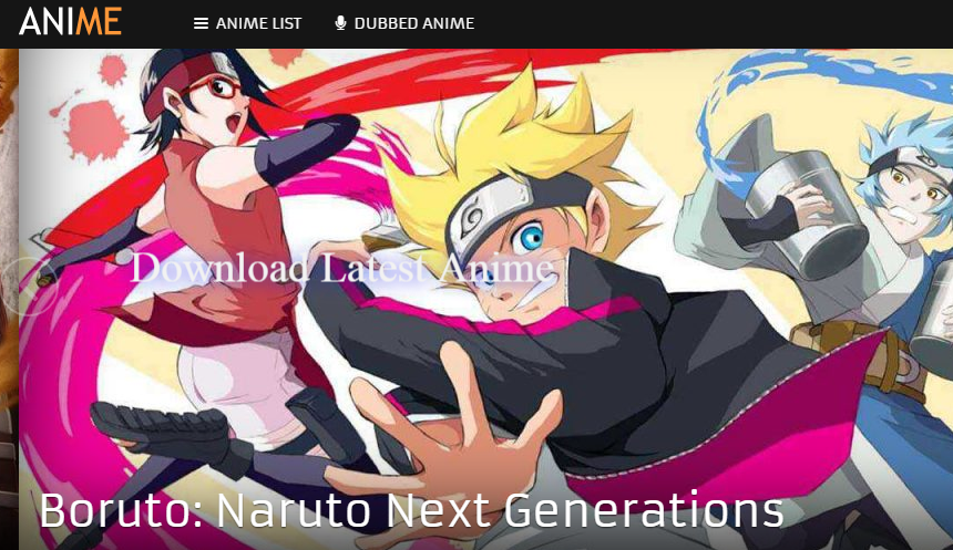 Watchanimeonlines Is Best Website To Find Latest Anime Like Boruto Naruto Next Generations And More Popular Shows In Built Search Bar