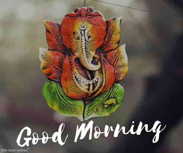 good morning wallpaper with god ganesh ji