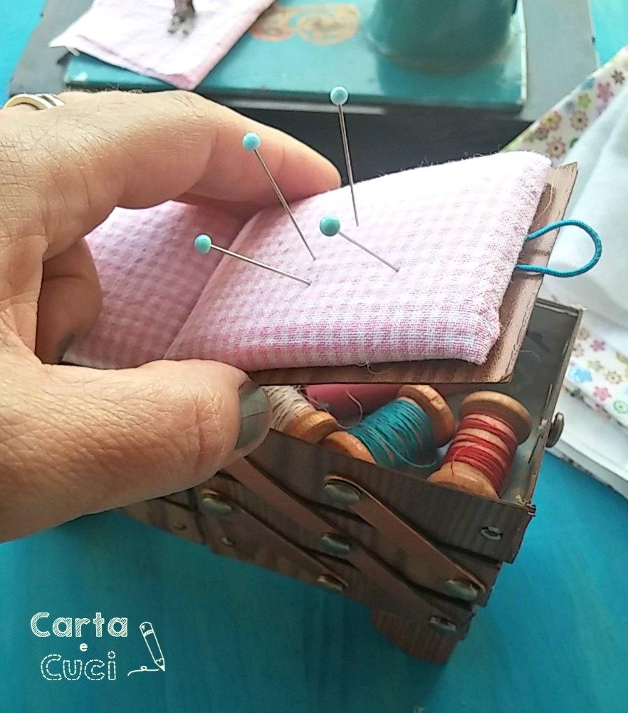 Cestini Da Lavoro Per Cucito carta e cuci: il cestino da cucito (the color sisters- sfida
