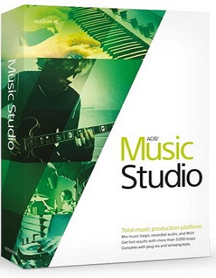 MAGIX ACID Music Studio 10.0 Build 162 poster box cover