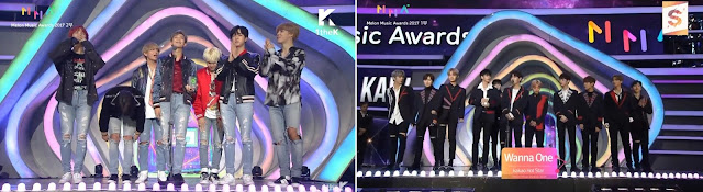 Vencedores Melon Music Awards 2017