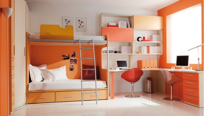 Decoraci n minimalista y contempor nea dise os y colores - Muebles dormitorio juvenil ...