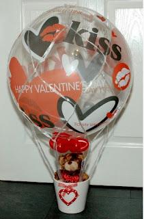 Hot Air Balloon Valentine
