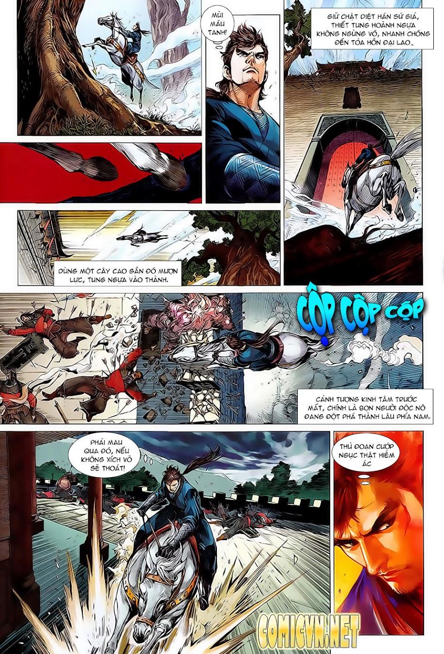 truyện tranh thiết tướng tung hoành Chapter 1/