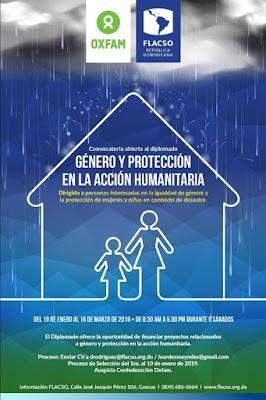 Diplomado Género y Protección en la Acción Humanitaria.
