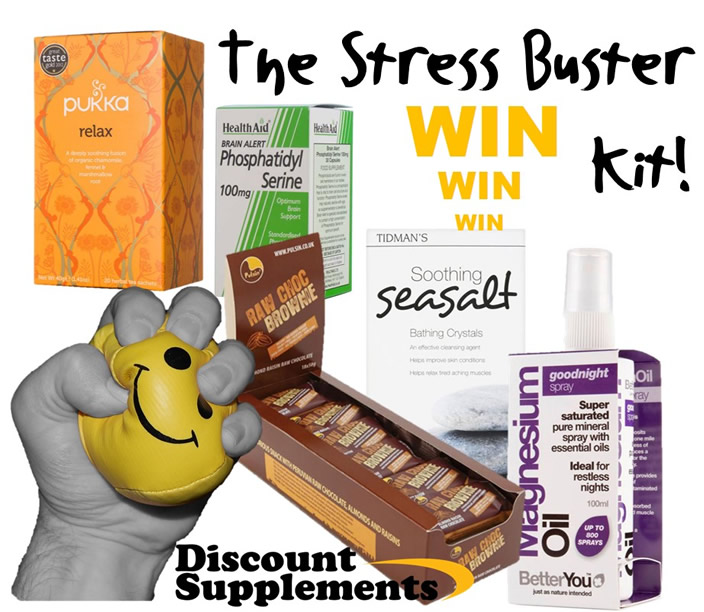 Win Stress Buster Kit - Giveaway