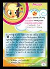 My Little Pony Applejack Series 5 Trading Card