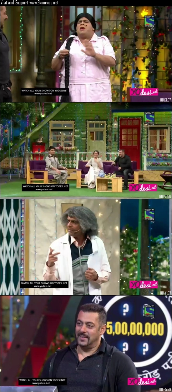 The Kapil Sharma Show 09 July 2016 HDTV 480p 250mb