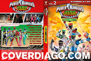 Powers Rangers Dino Supercharge Vol.2 Extinction