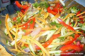 салат из баклажанов готовый