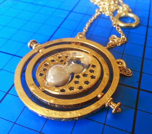 Hermione Granger style time turner with hour glass