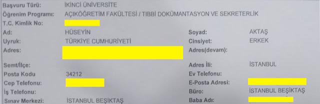 Tıbbi Dokümantasyon ve Sekreterlik Bölümü