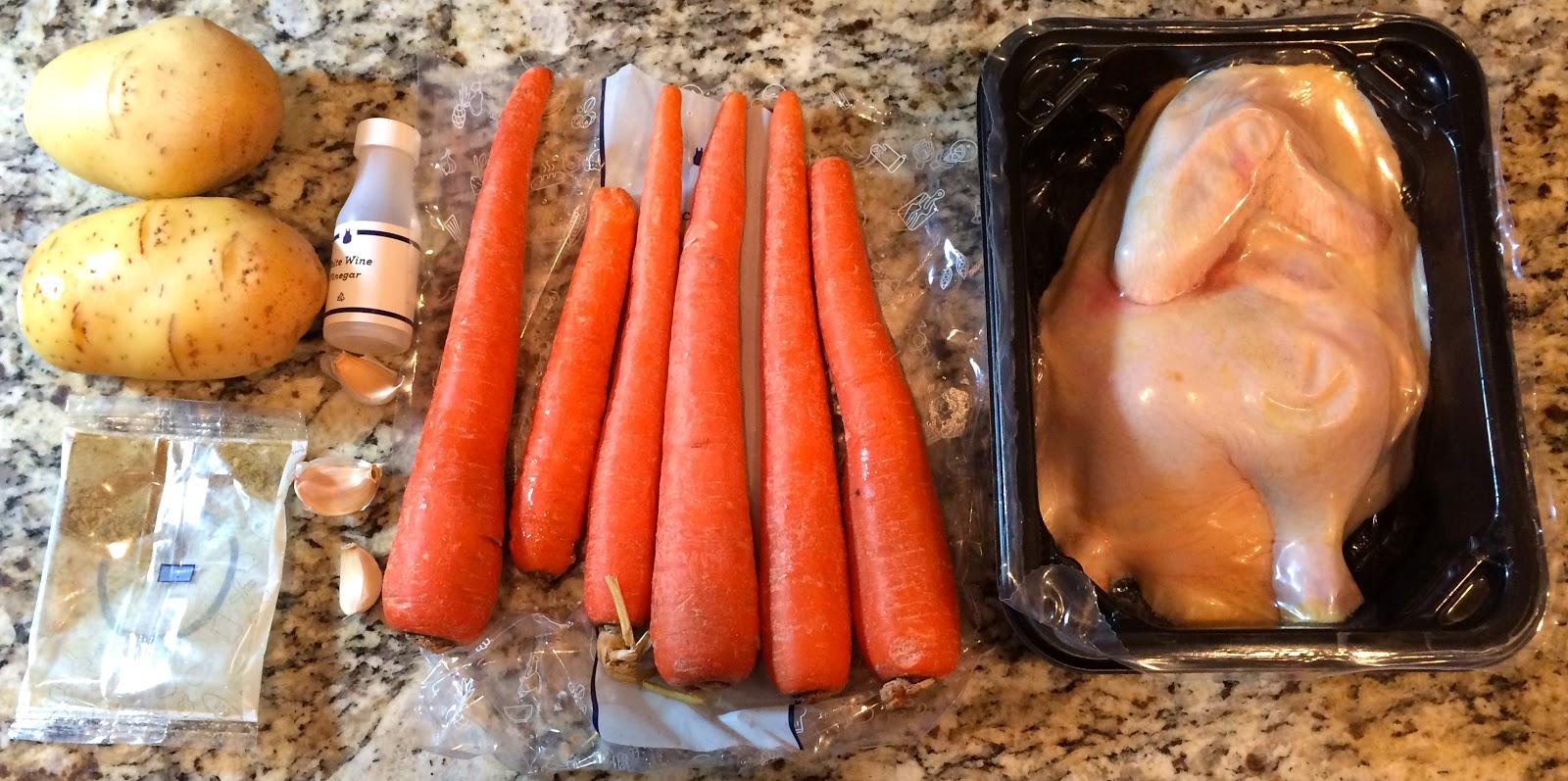 Blue apron katsu catfish - Chicken Under A Brick With Roasted Vegetables Italian Dressing