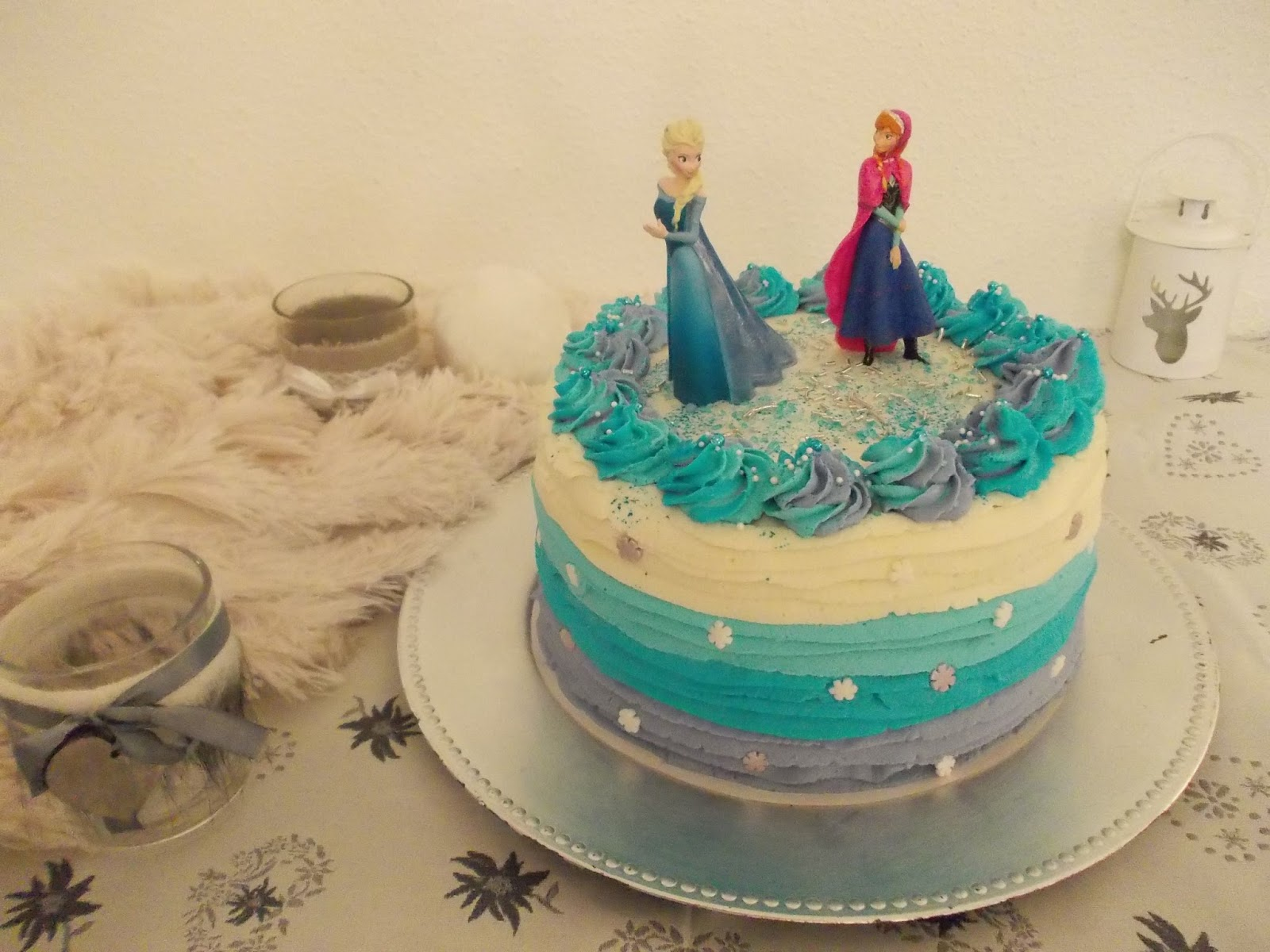 Cake Designe Chantilly Anniversaire