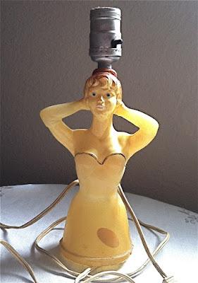 sexy lady lamp