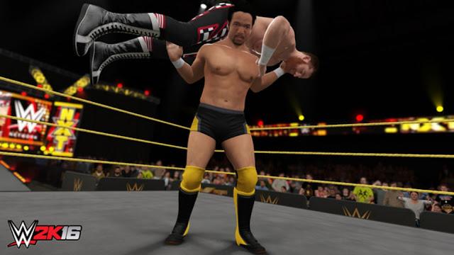 WWE 2k16 Đô Vật Mỹ
