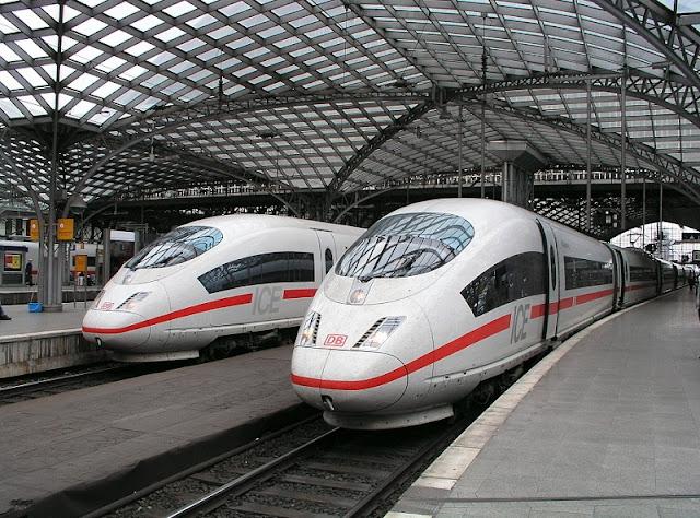Trem de Colônia a Berlim