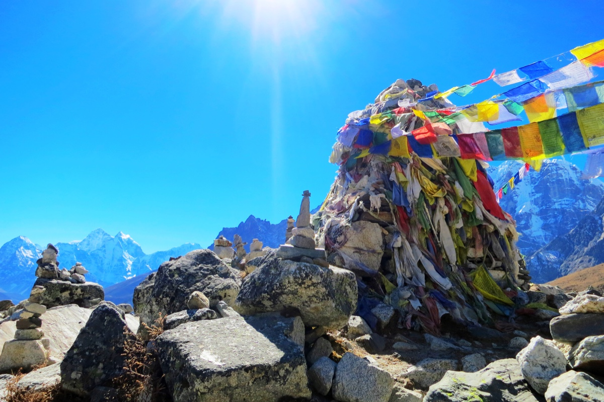 on the way to Mount Everest base camp trekking, you will never miss the beautiful landscape.