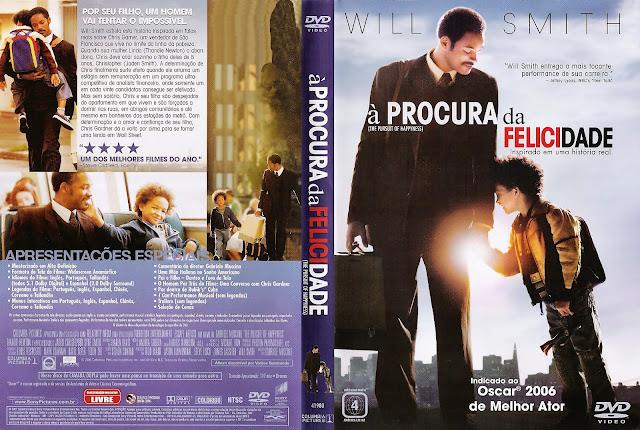 Capa DVD À Procura da Felicidade