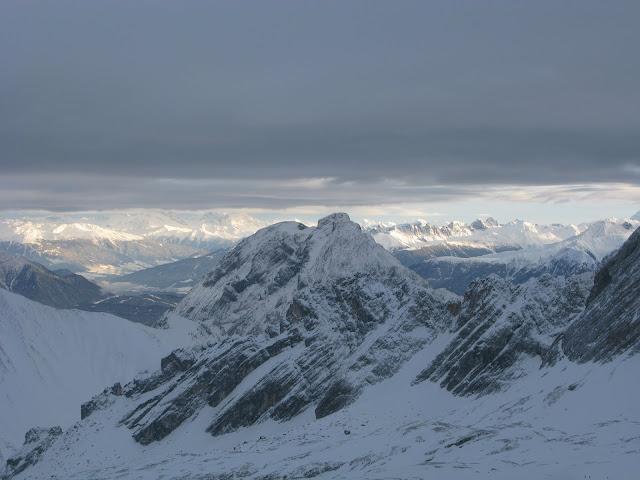 Zugspitze Alpes Baviera Alemania