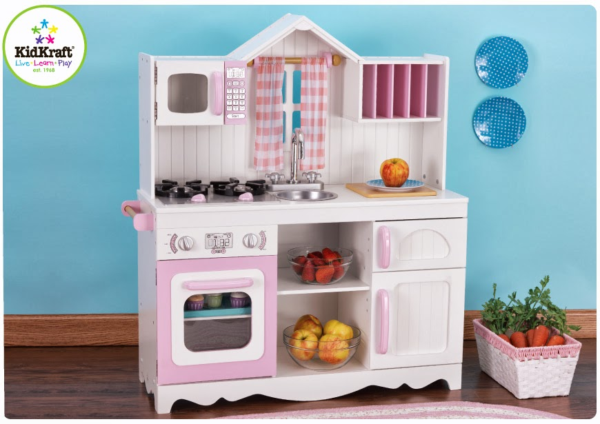 kidkraft modern country kitchen kidkraft toys amp furniture available now modern country 4940